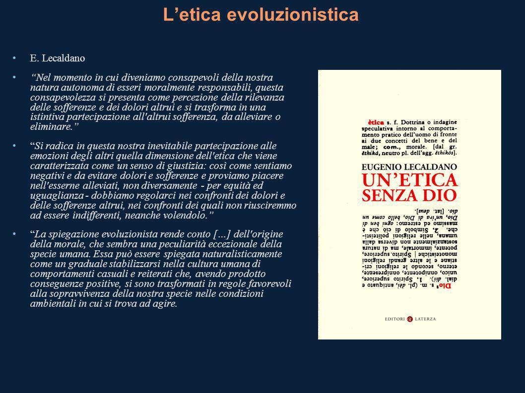 Letica evoluzionistica E.