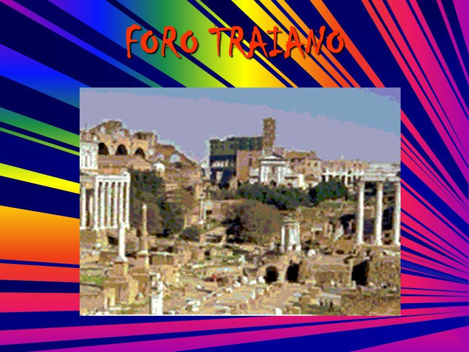 Fatti costruire dall imperatore Traiano tra il 103 e il 113 d.C.