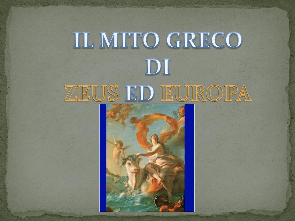 Europa era una bellissima principessa fenicia, figlia di Agenore, re di Tiro.