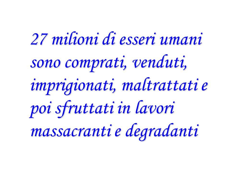 In Europa, Italia Il Tribunale di Torino Il 15/12/2000 Condanna lo sfruttatore del giovane Daniel Per averlo ridotto in schiavitù, attraverso inganno