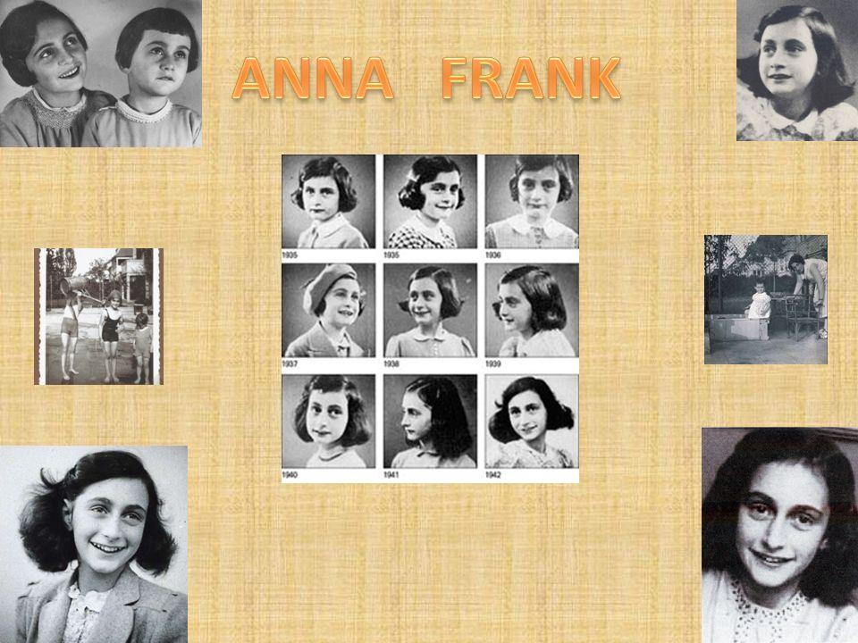 ANNA FRANK E IL SUO DIARIO La sua storia è un simbolo perché la ragazza è costretta a vivere segregata in una soffitta per sfuggire allorrore nazista,