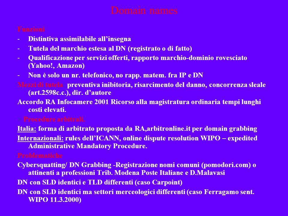 Rapporto DN/Marchi > Utilizzo esclusivo del DN da parte del titolare del marchio registrato, o anche non registrato ma notorio Intento confusorio - VW v.