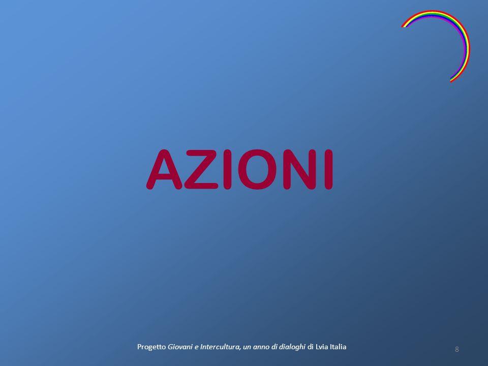 AZIONI 8 Progetto Giovani e Intercultura, un anno di dialoghi di Lvia Italia