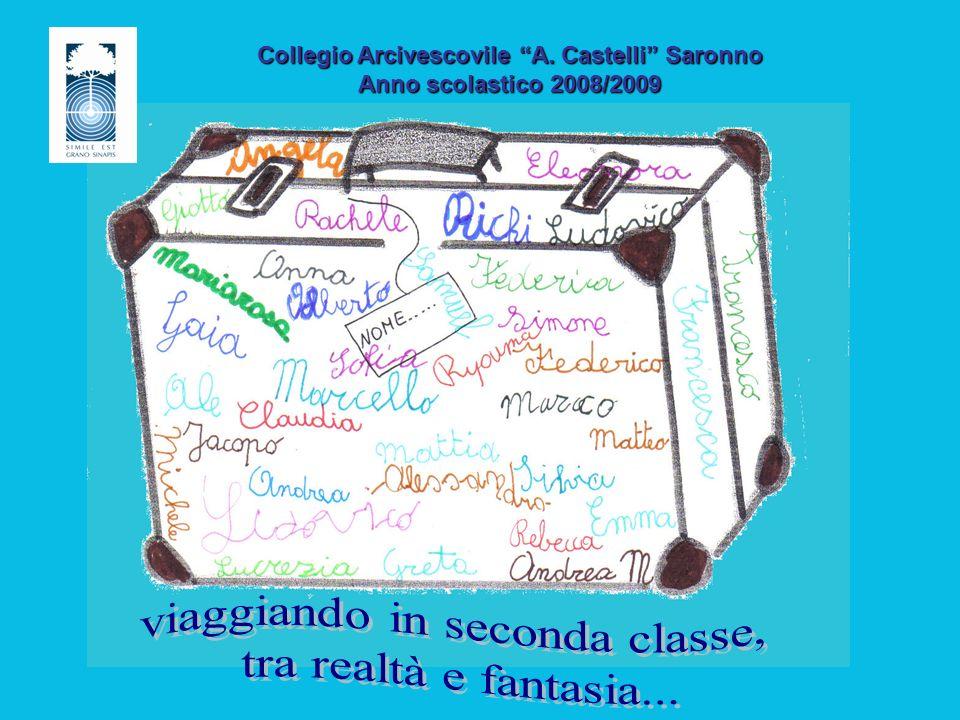 Collegio Arcivescovile A. Castelli Saronno Anno scolastico 2008/2009