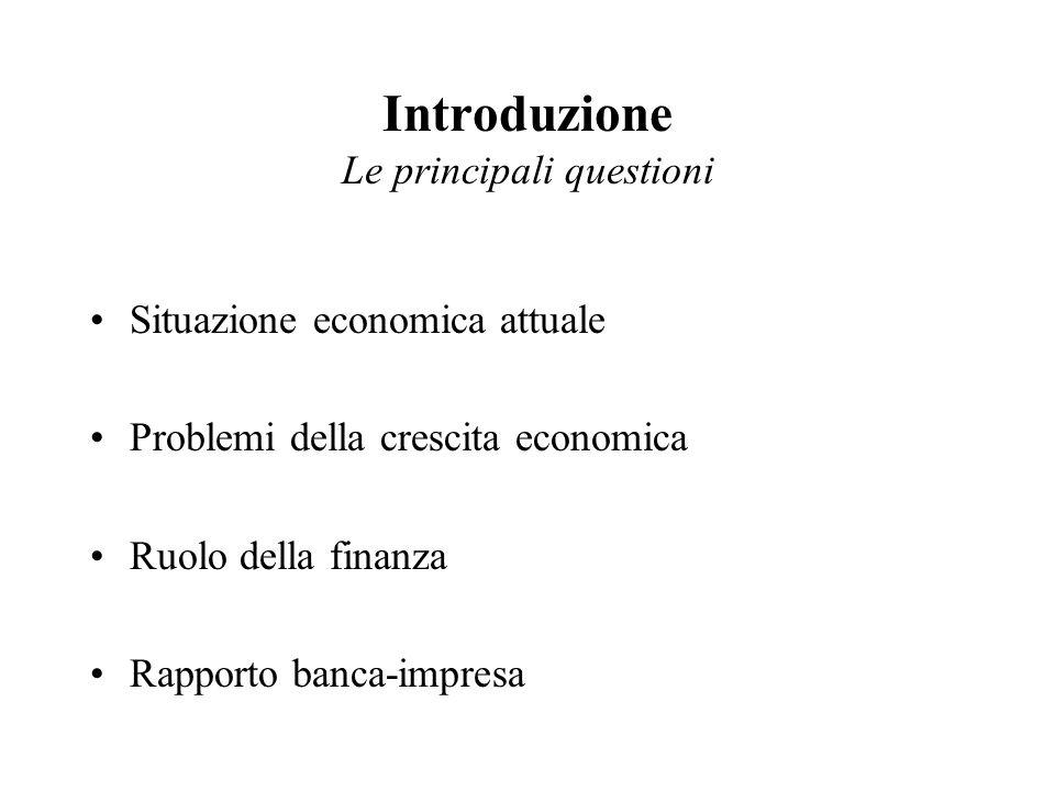 La finanza non va separata dalla economia reale; è uno strumento e non un fine.