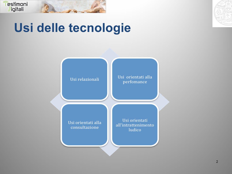 Usi delle tecnologie 2