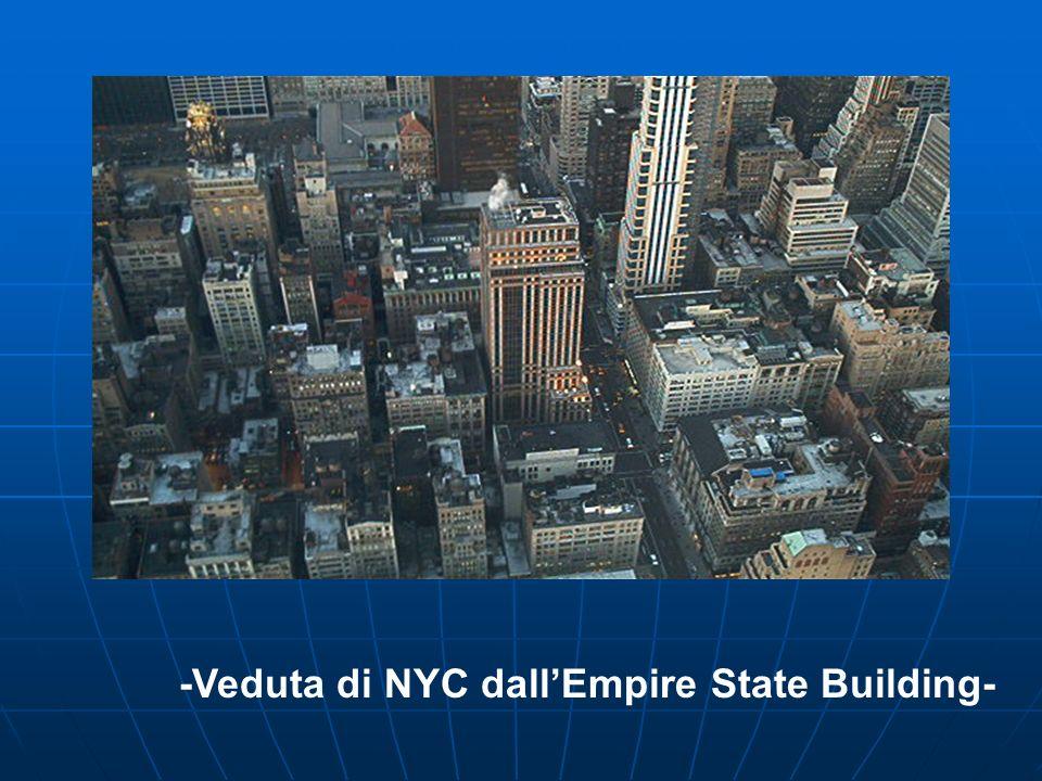 -Veduta di NYC dallEmpire State Building-
