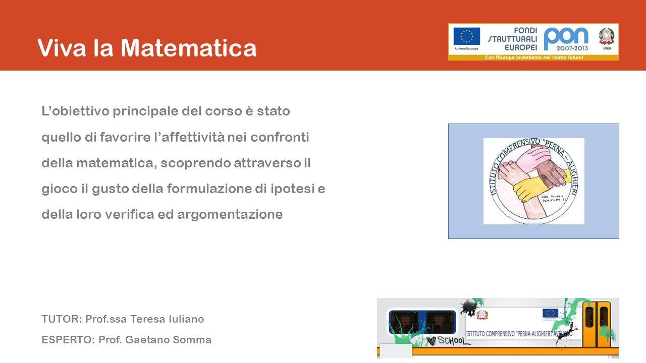 Viva la Matematica Articolazione del percorso formativo 3 moduli - 30 ore Modulo 1: A spasso tra i numeri Modulo 2: Da Pitagora a Cartesio Modulo 3: Mondo matematico La statistica Traduzione in italiano Sai cos è la statistica.