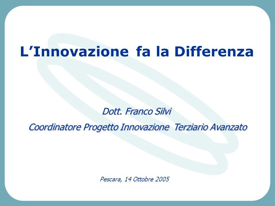Pescara, 14 Ottobre 2005 LInnovazione fa la Differenza Dott.