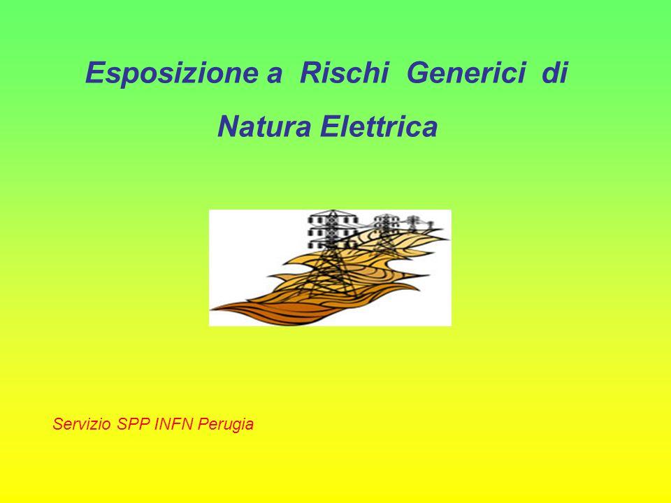 Esposizione a Rischi Generici di Natura Elettrica Servizio SPP INFN Perugia