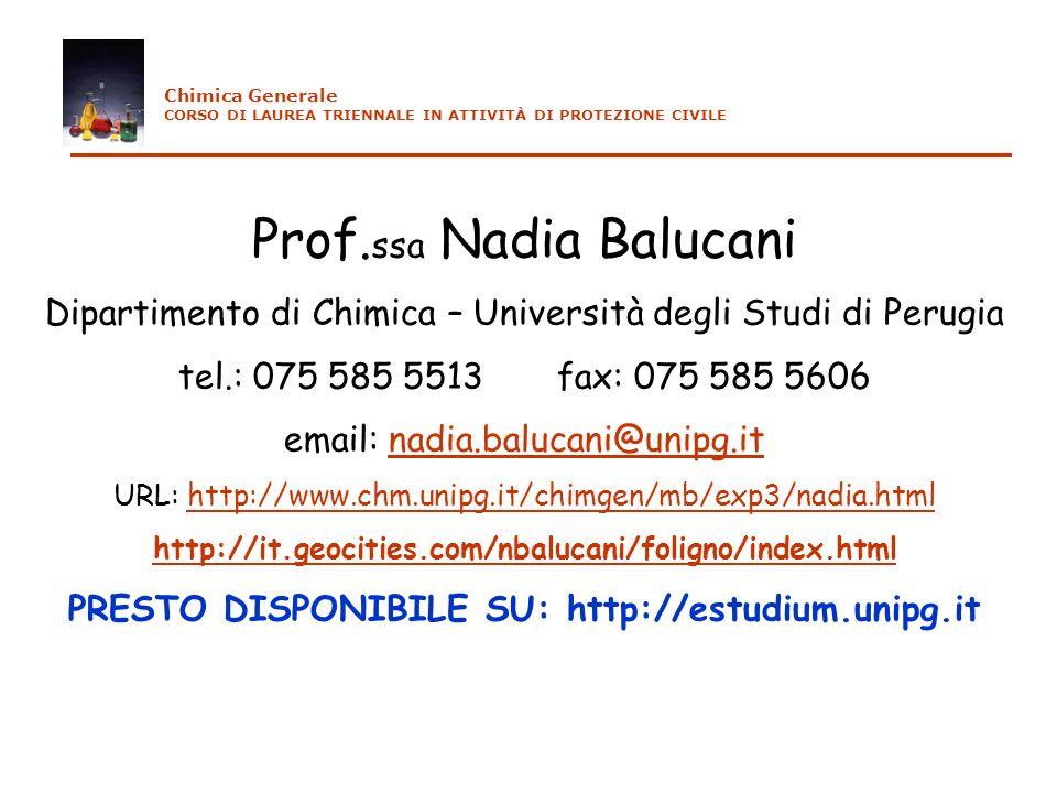 Nomenclatura delle sostanze inorganiche Eccezioni: nome dellelementoradiceesempi di composto es.