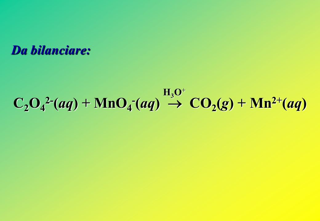 NO 3 - (aq) + 3 e - + 4 H 3 O + (aq) NO(g) + 6 H 2 O(l) = + 0,960 V Cl 2 (g) + 2 e - 2 Cl - (aq) = + 1,358 V