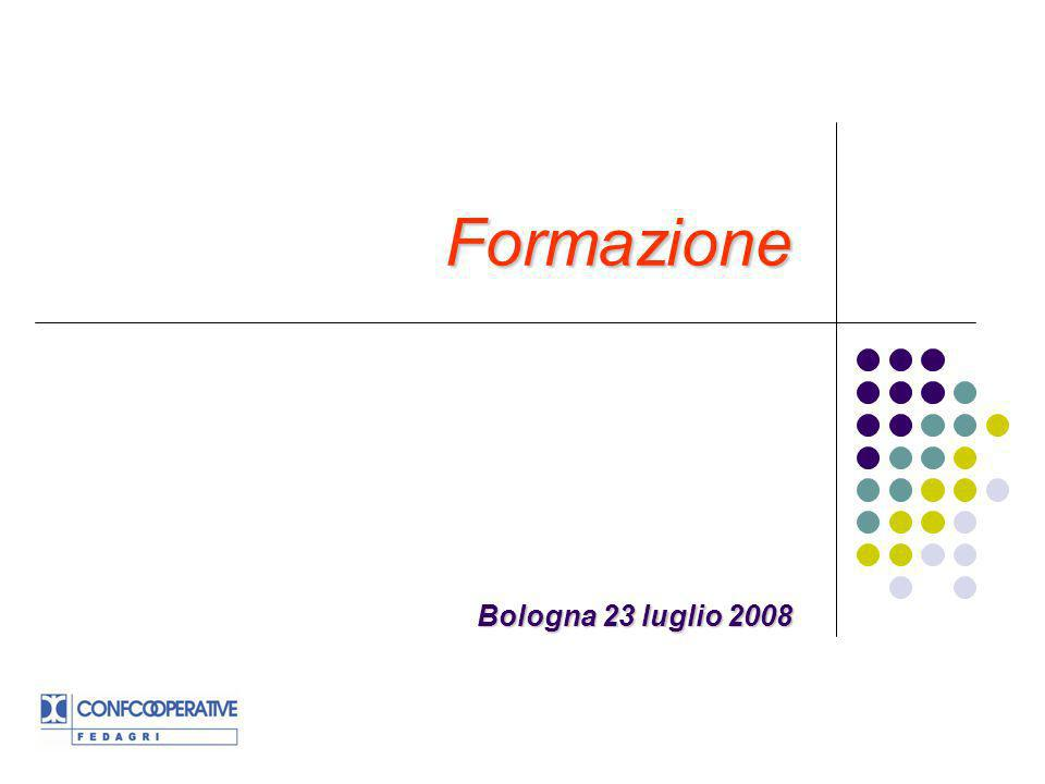Consiglio Nazionale 13 dicembre 2007 Vennero tracciate tre linee strategiche per lattività 2008 di Fedagri-Confcooperative: sviluppo delle imprese cooperative;sviluppo delle imprese cooperative; autenticità dellimpresa cooperativa e centralità del socio;autenticità dellimpresa cooperativa e centralità del socio; formazione.formazione.