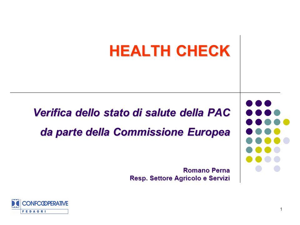 32 Dopo il 2013 Il futuro della PAC post 2013 si gioca su due fronti: 1.Le decisioni del Consiglio sulla Health Check: al riguardo non è da sottovalutare il fatto che questo confronto avverrà sotto la presidenza francese, notoriamente tradizionalista sullimpianto della PAC.