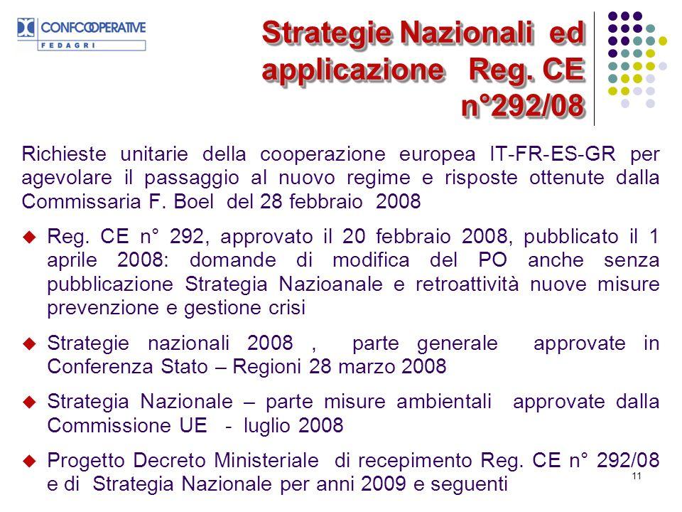 11 Strategie Nazionali ed applicazione Reg.