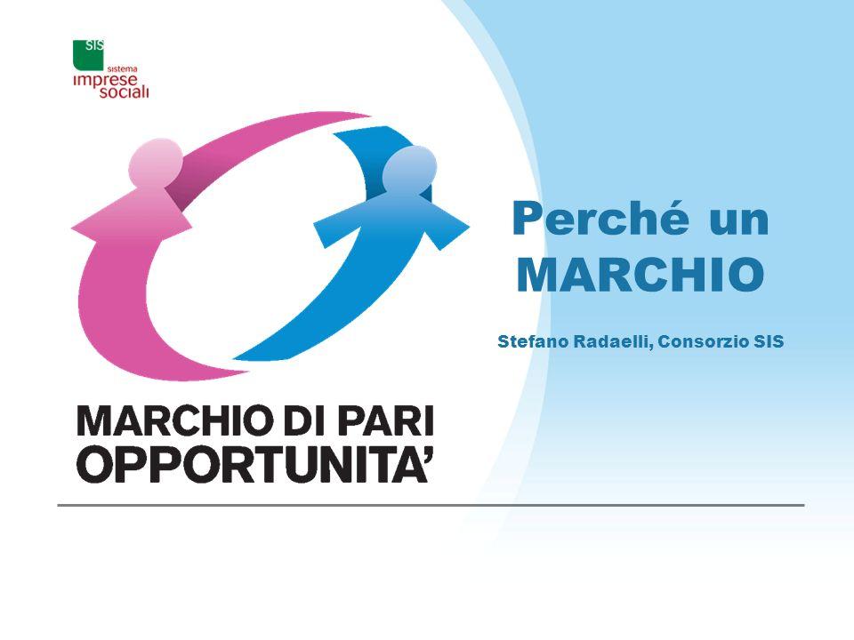 Perché un MARCHIO Stefano Radaelli, Consorzio SIS