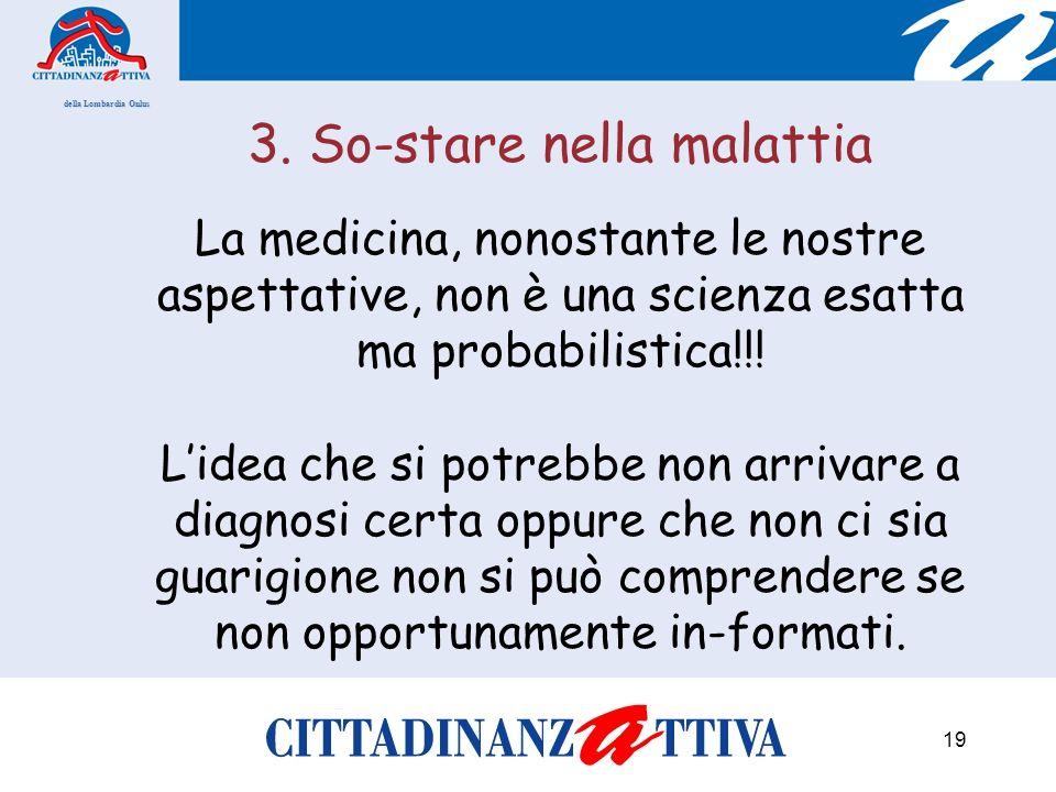 della Lombardia Onlus 19 3.