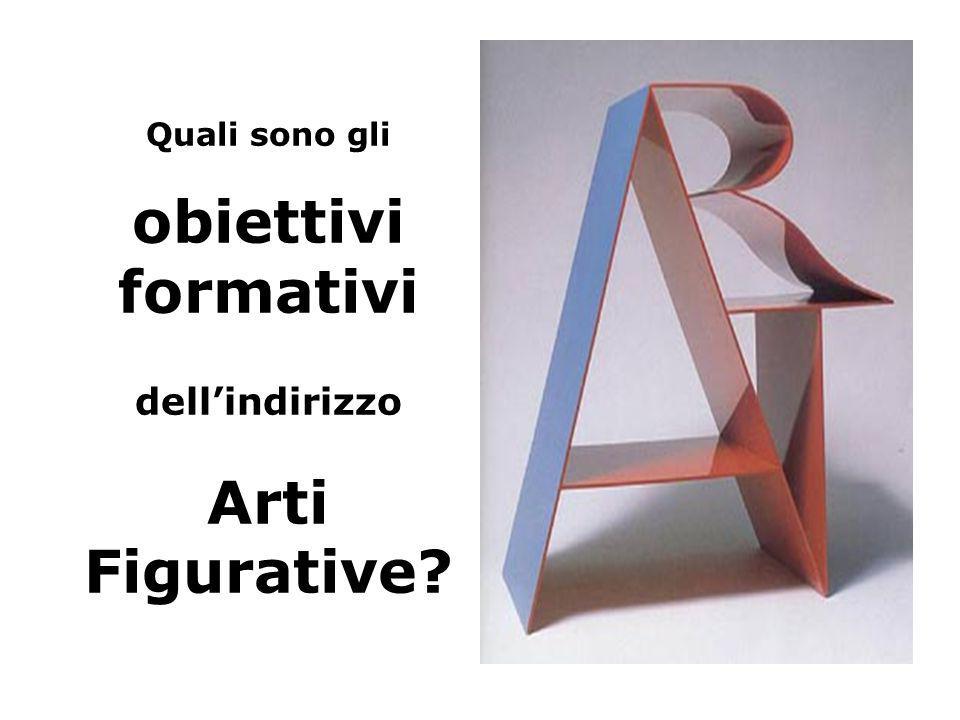 Quali sono gli obiettivi formativi dellindirizzo Arti Figurative?