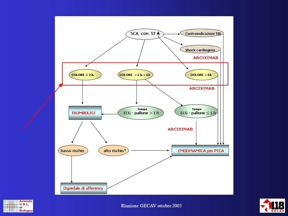 Riunione GECAV ottobre 2005 Il nostro Servizio sta cercando di realizzare un follow-up dei pazienti che …..