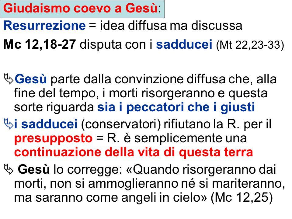 Il discorso escatologico di Gesù (sinottici; es.
