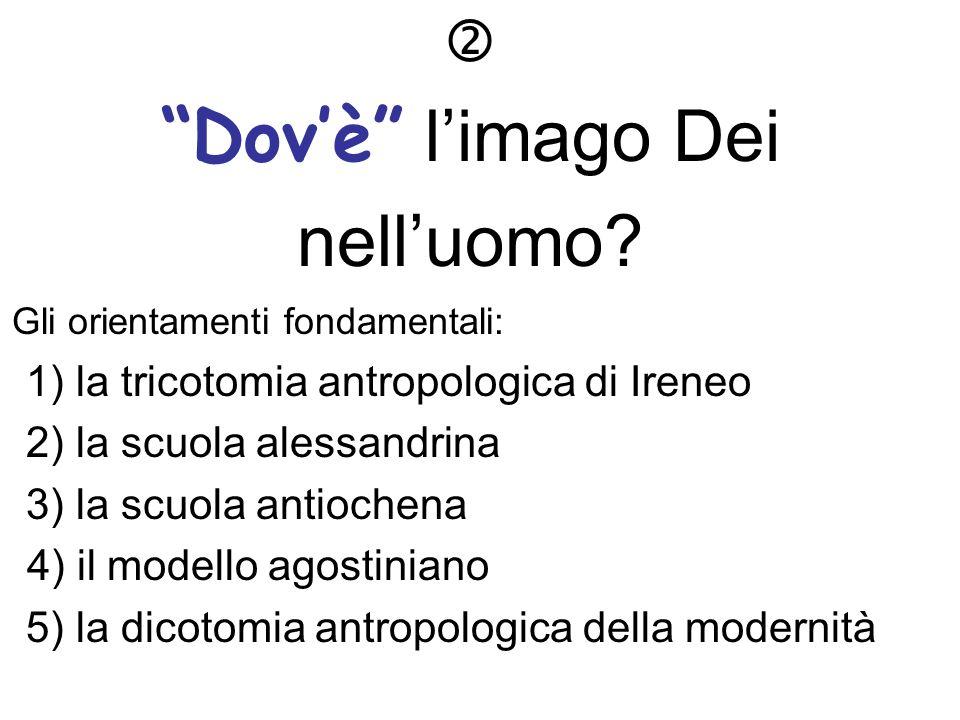 2) la critica allantropologia individualistica critica ad una certa antropologia tipica della nostra cultura e non pienamente cristiana una visione «individualistica» dellantropo- logia è ancora astratta.
