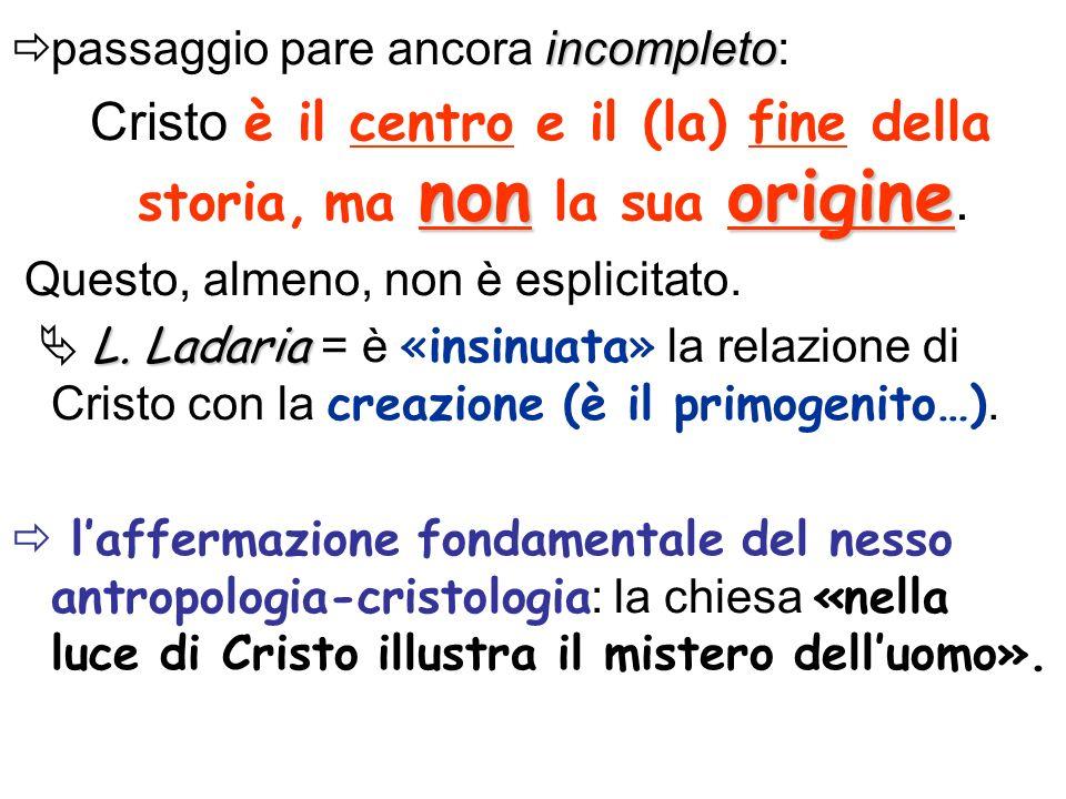 Due fini? SOPRANATURA: NATURA : FELICITA NATURALE = senza Cristo VISIO BEATIFICA = con Cristo