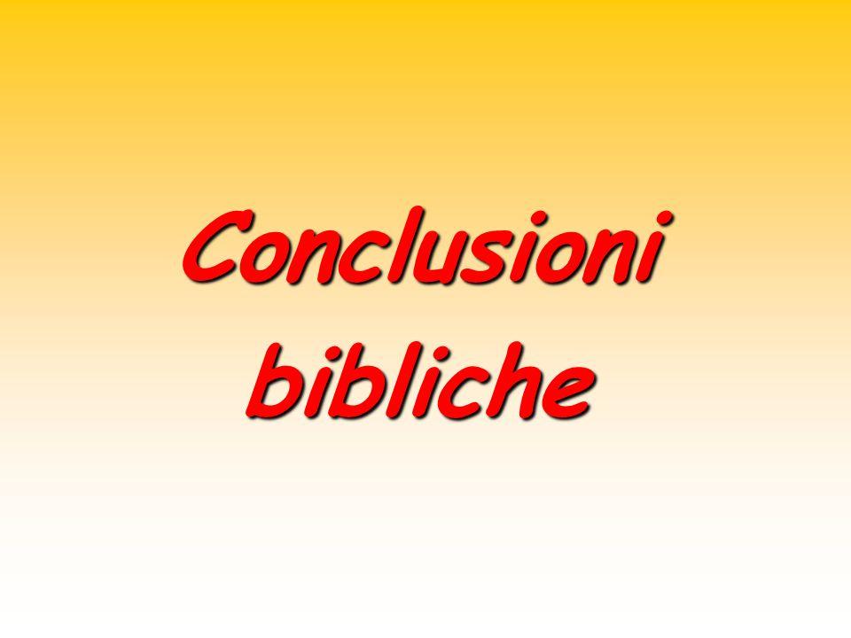 Conclusionibibliche