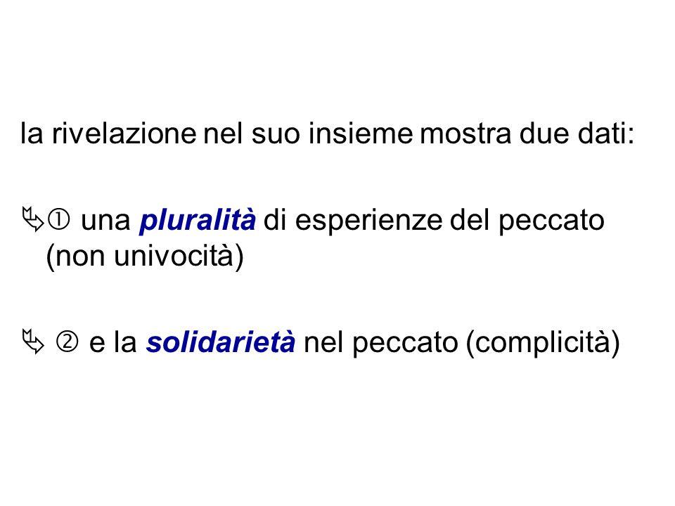 La pluralità dellesperienza del peccato La pluralità dellesperienza del peccato Nella lingua italiana cè un solo termine per dire peccato e viene compreso in una direzione univoca: lazione colpevole volutamente e liberamente compiuta da un soggetto.