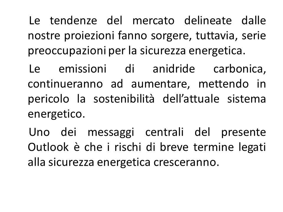 WORLD ENERGY OUTLOOK 2008: LE PRINCIPALI CONCLUSIONI.