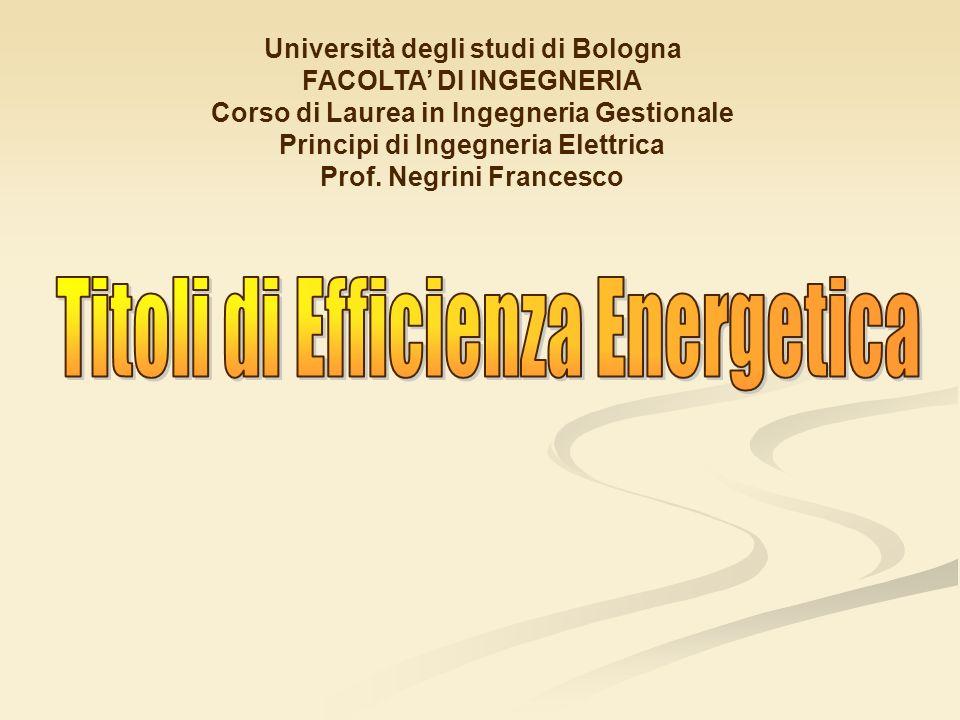 Università degli studi di Bologna FACOLTA DI INGEGNERIA Corso di Laurea in Ingegneria Gestionale Principi di Ingegneria Elettrica Prof. Negrini France