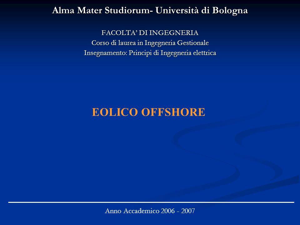 Alma Mater Studiorum- Università di Bologna FACOLTA DI INGEGNERIA Corso di laurea in Ingegneria Gestionale Insegnamento: Principi di Ingegneria elettr