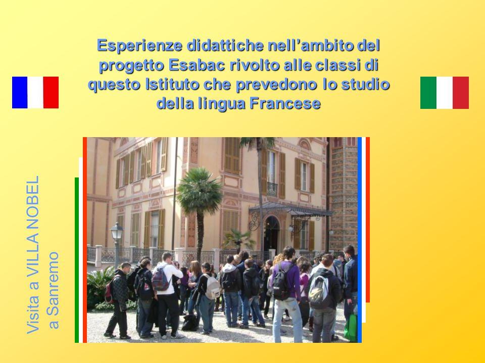 projet pédagogique ESABAC PEEF ALCOTRA Lycée International de Grenoble Liceo Calasanzio Carcare