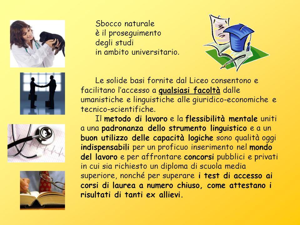 Liceo Calasanzio: una scuola dalle gloriose tradizioni, sempre al passo con i tempi.