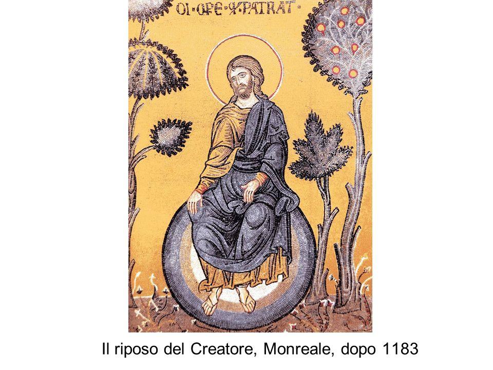 Il riposo del Creatore, Monreale, dopo 1183