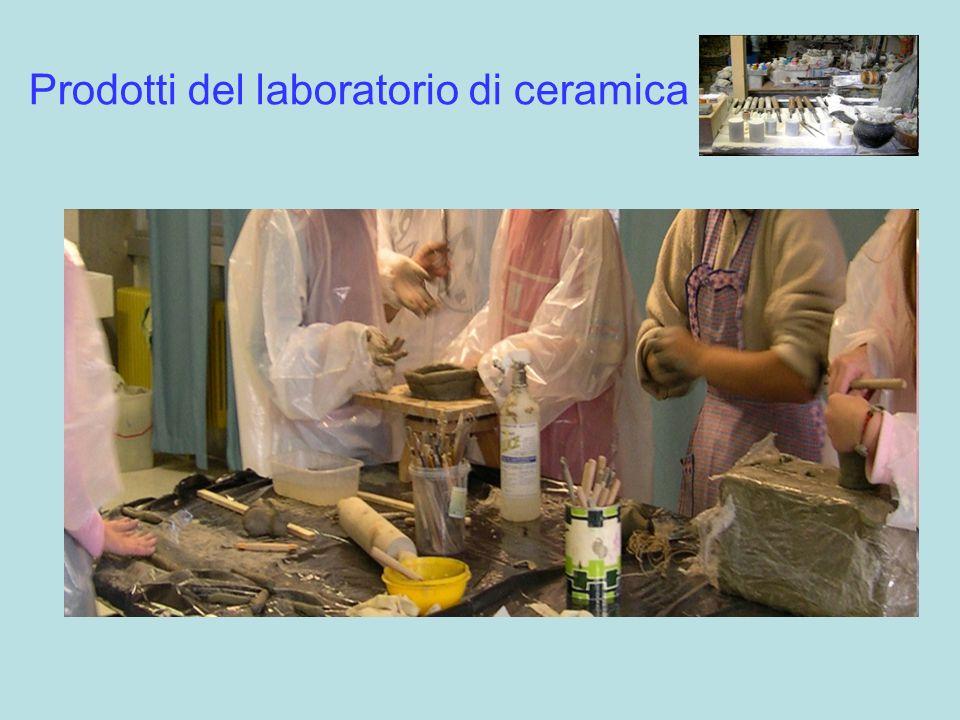 Prodotti del laboratorio di ceramica