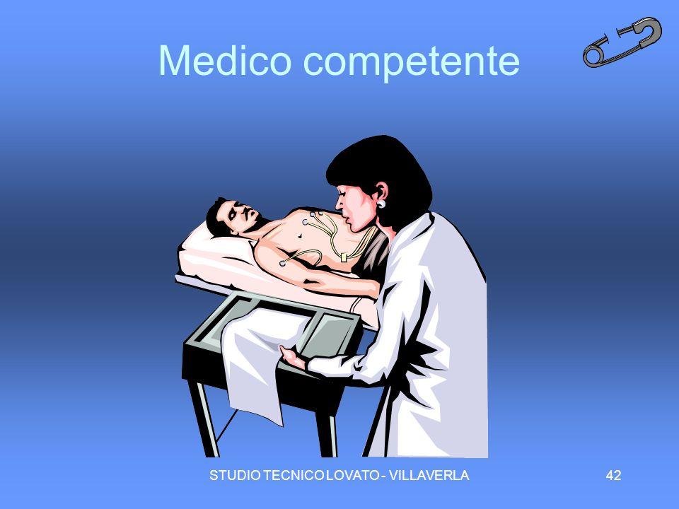 STUDIO TECNICO LOVATO - VILLAVERLA42 Medico competente