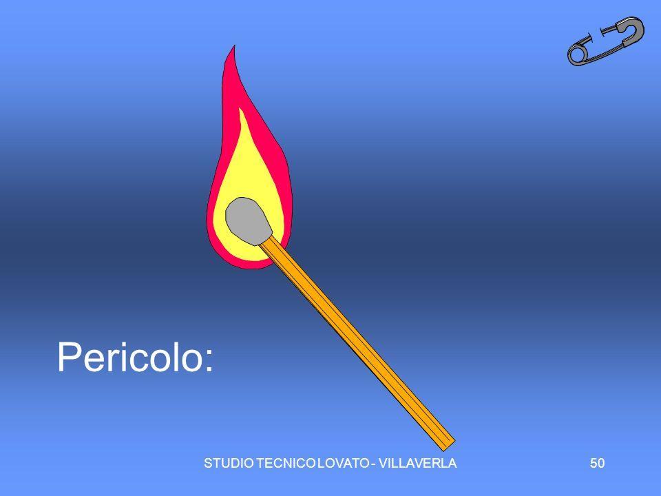 STUDIO TECNICO LOVATO - VILLAVERLA50 Pericolo: