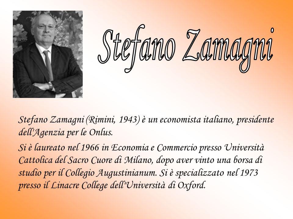 Stefano Zamagni (Rimini, 1943) è un economista italiano, presidente dell Agenzia per le Onlus.