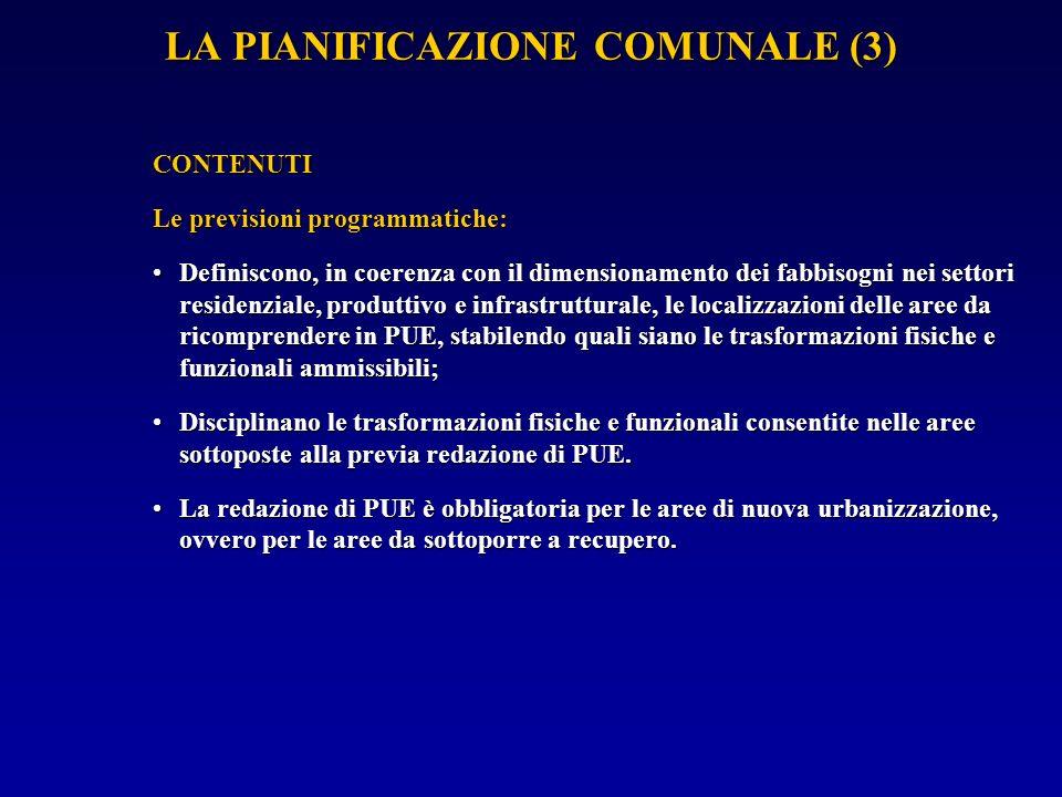 LA PIANIFICAZIONE COMUNALE (4) PROCEDURE DI FORMAZIONE La G.C.