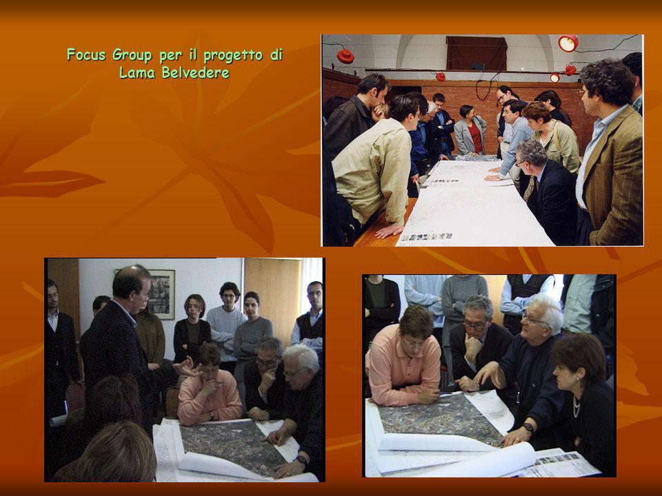 Focus Group per il progetto di Lama Belvedere