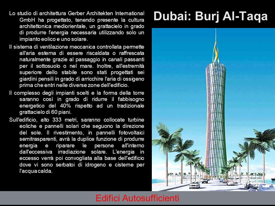 Dubai: Burj Al-Taqa Lo studio di architettura Gerber Architekten International GmbH ha progettato, tenendo presente la cultura architettonica mediorie