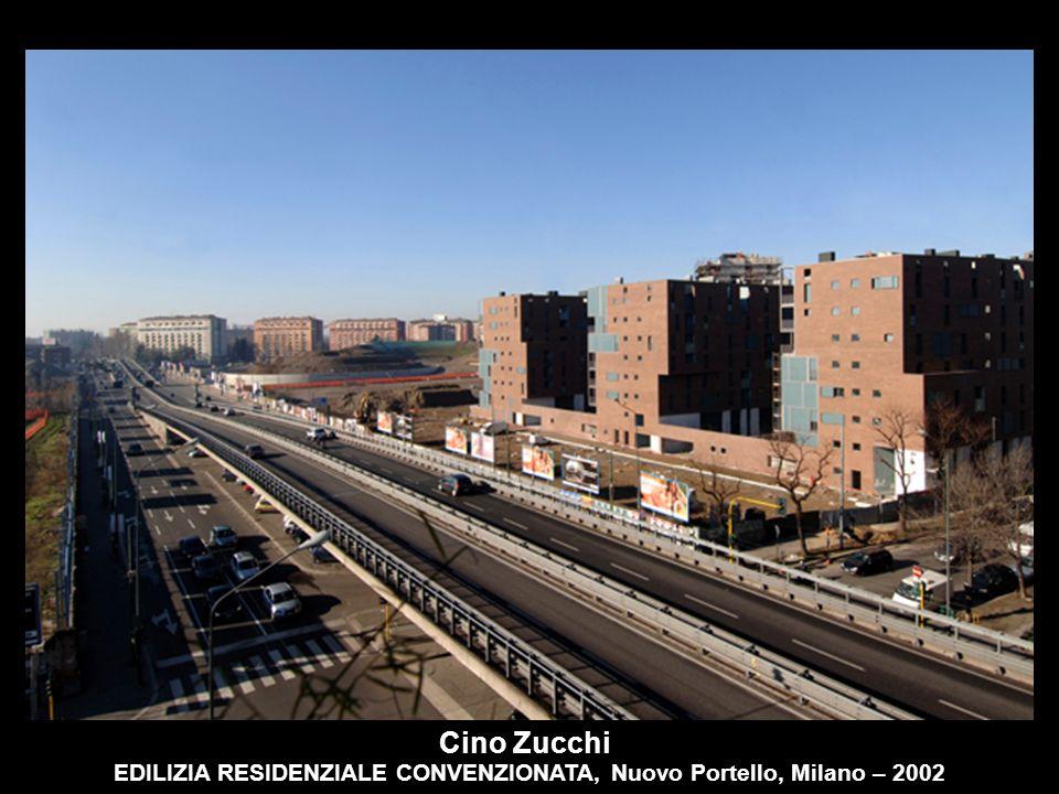 EDILIZIA RESIDENZIALE CONVENZIONATA, Nuovo Portello, Milano – 2002 Cino Zucchi
