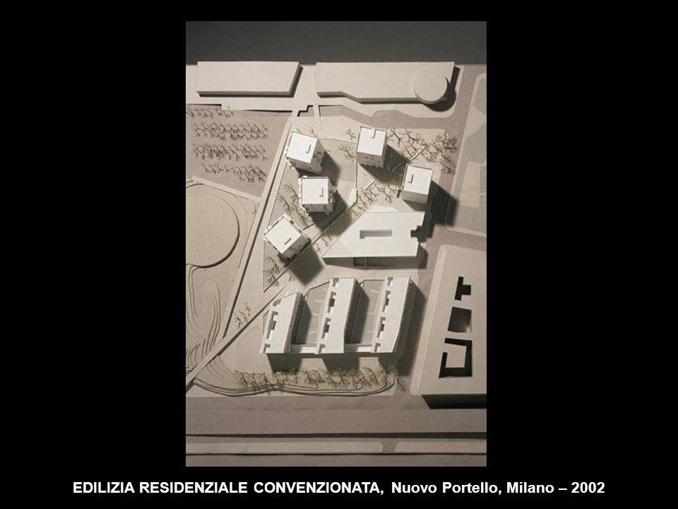 EDILIZIA RESIDENZIALE CONVENZIONATA, Nuovo Portello, Milano – 2002