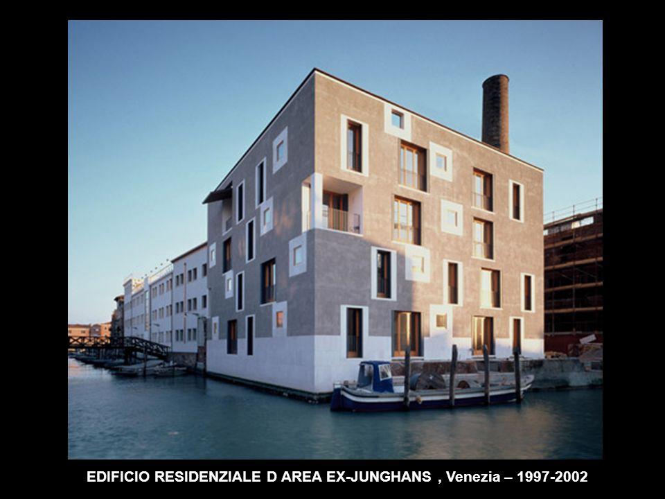 EDIFICIO RESIDENZIALE D AREA EX-JUNGHANS, Venezia – 1997-2002