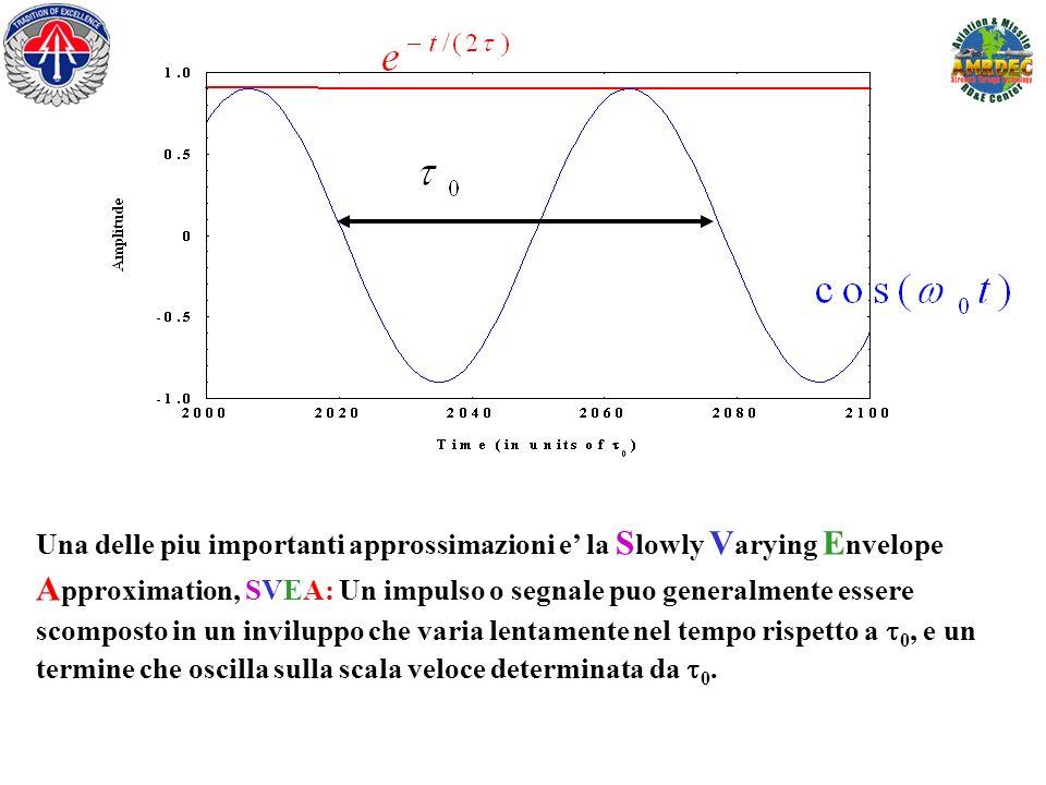 Una delle piu importanti approssimazioni e la S lowly V arying E nvelope A pproximation, SVEA: Un impulso o segnale puo generalmente essere scomposto