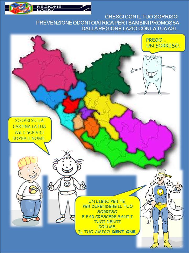 Questo libro, destinato ai bambini della scuola primaria, fa parte della campagna di prevenzione rivolta a tutti i bambini, fanciulli e ragazzi da 0 a 14 anni, promossa dalla Regione Lazio con la partecipazione di tutte e 12 le Aziende Unità Sanitarie Locali (AUSL) della regione.