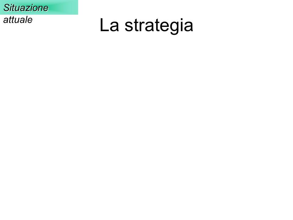 La strategia Situazione attuale