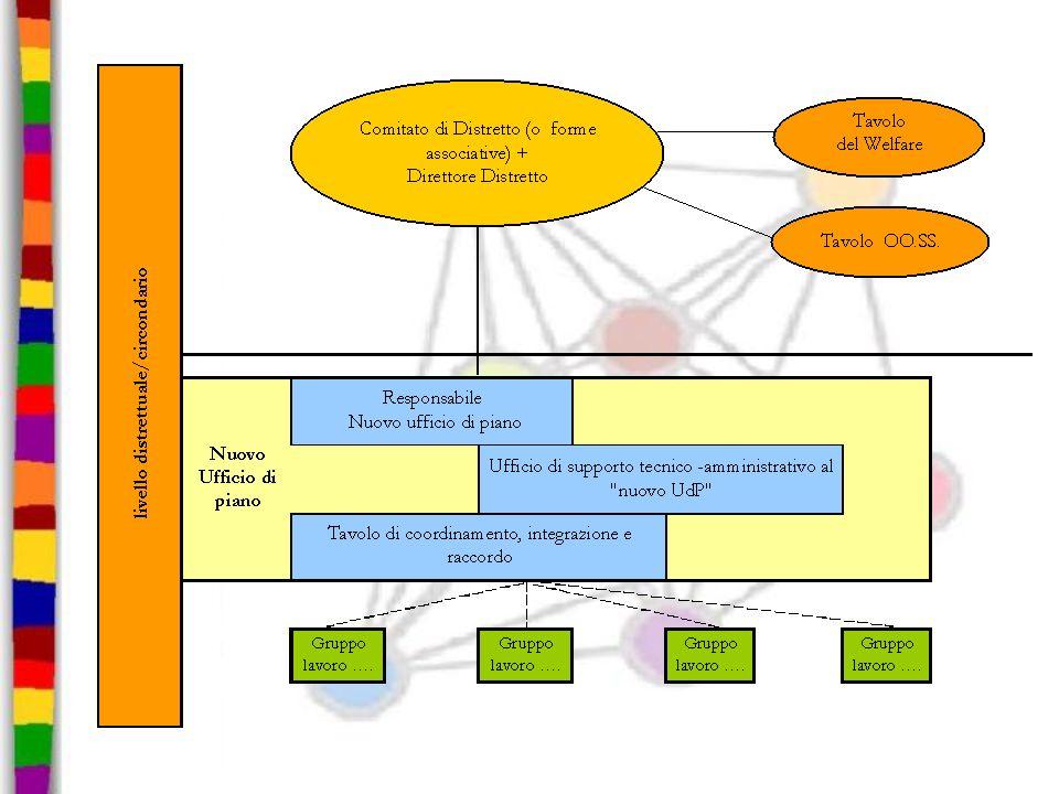 Il livello distrettuale PSSR ha affermato un sistema di governance centrato sullambito territoriale del distretto.