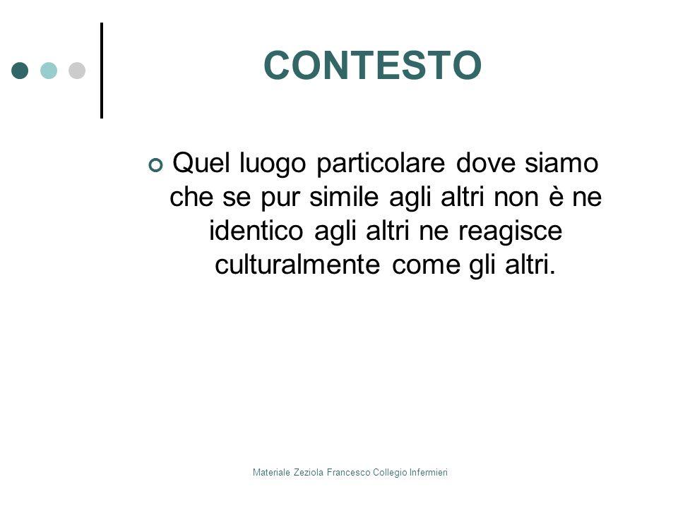 Materiale Zeziola Francesco Collegio Infermieri IL FORMATORE CHE COMPETENZA / ABILITA DEVE AVERE: 1.