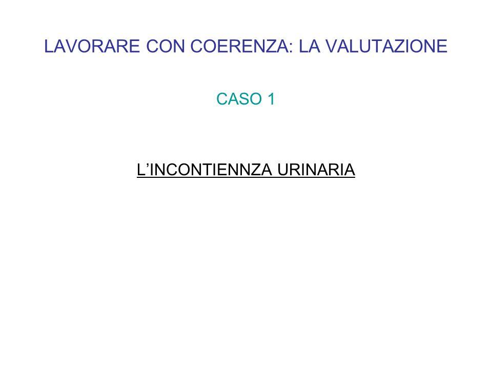 CASO 1 LINCONTIENNZA URINARIA